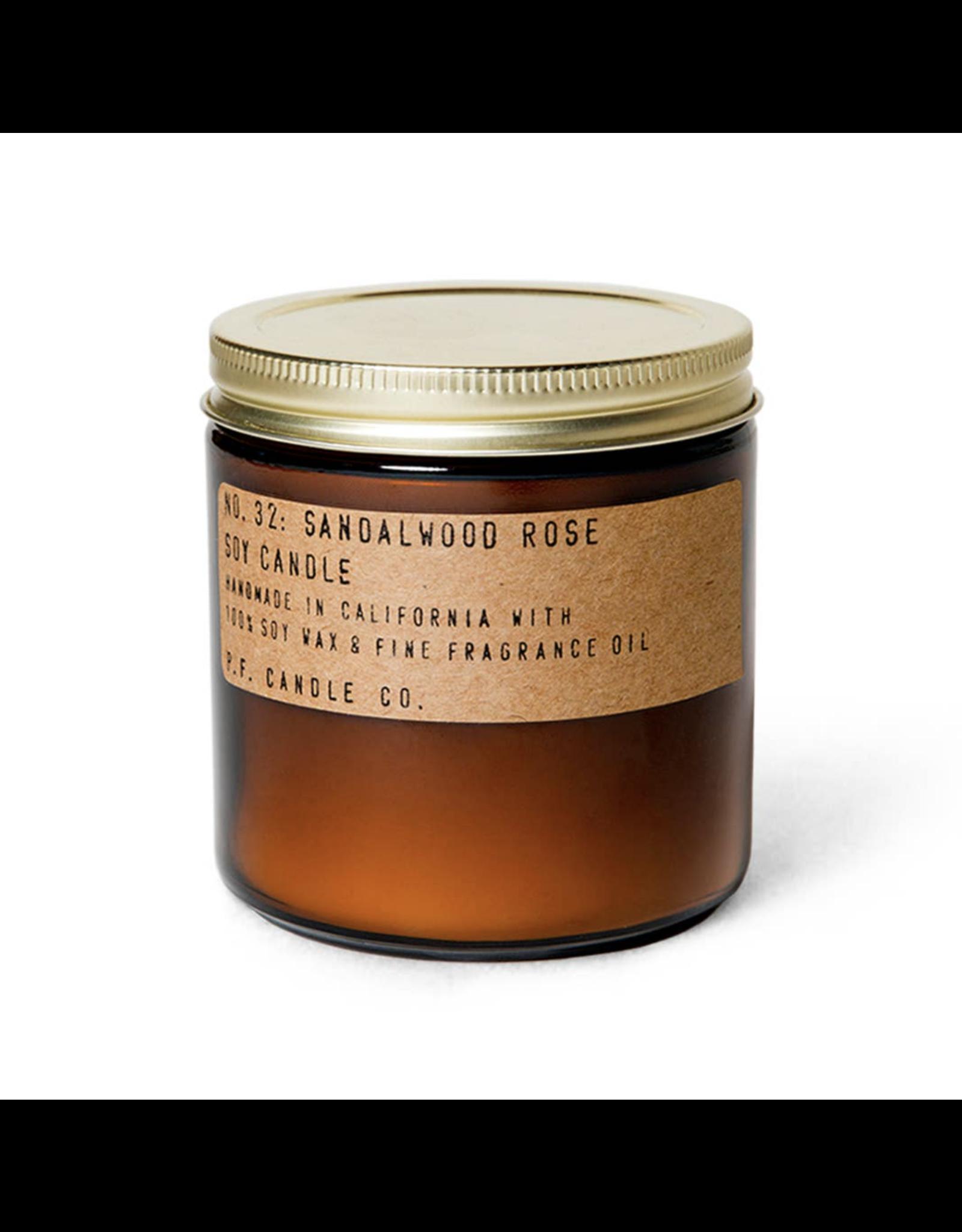 Sandalwood Rose - 12.5 oz  Soy Candle