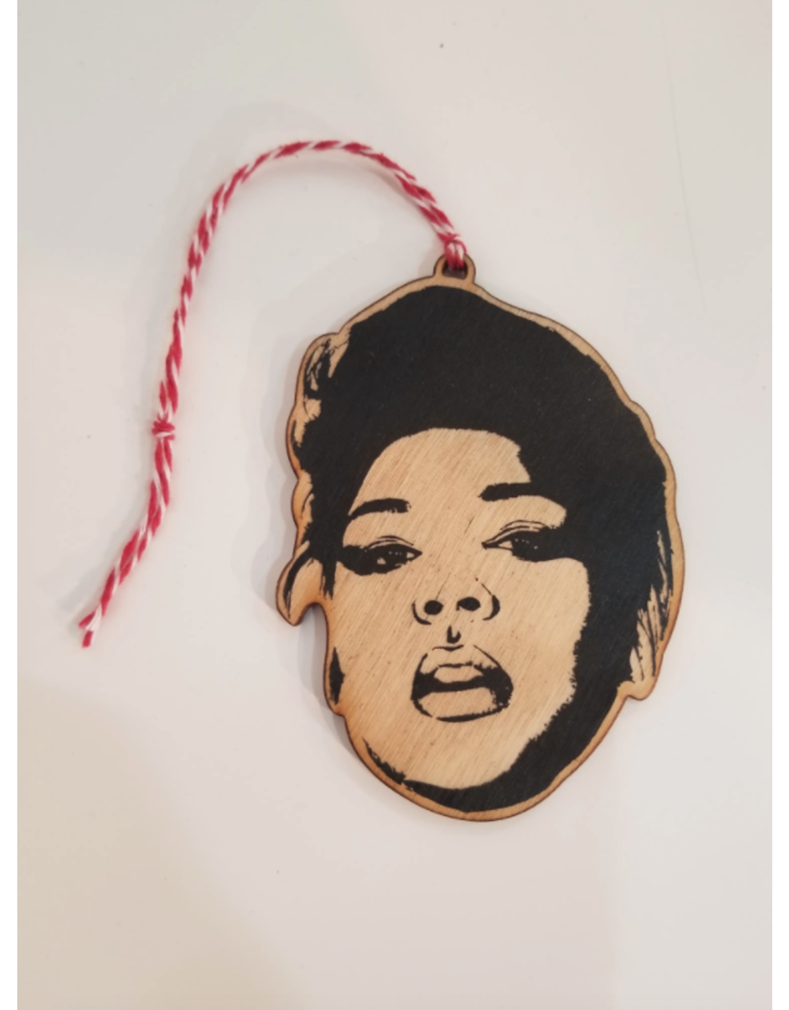Lizzo Ornament - Lettercraft