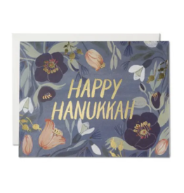 Hanukkah Flowers Card