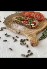 Olive Wood Round Tapas Board - Large