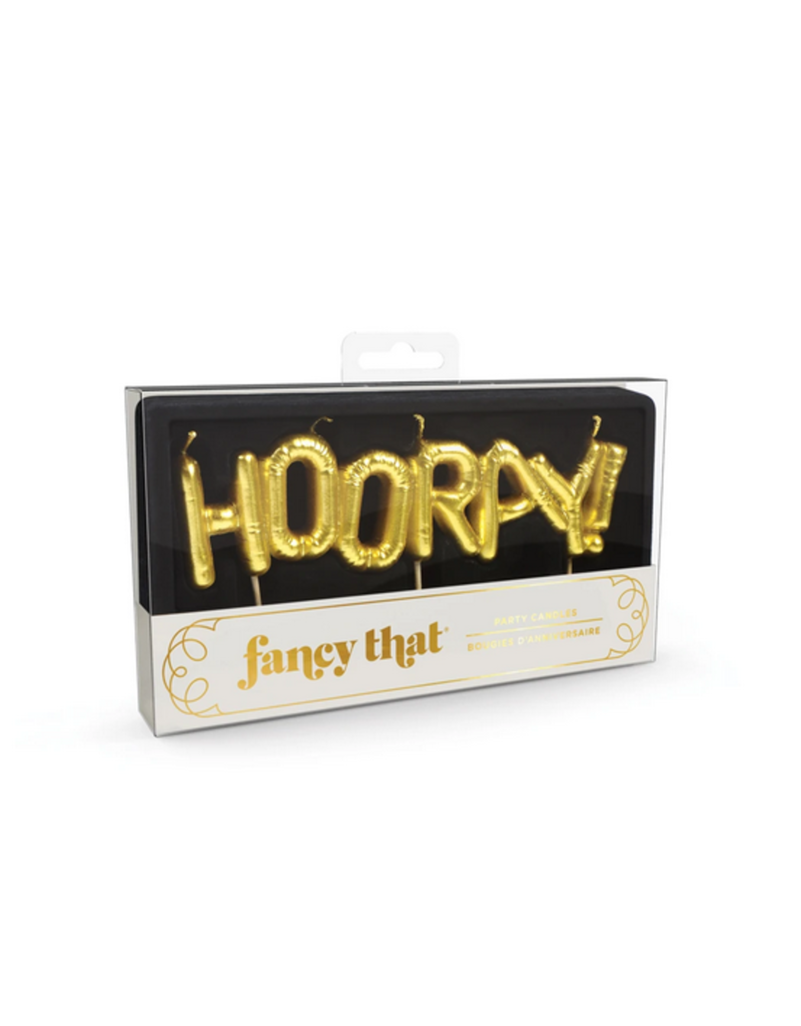 Fred Party Candles - Hooray