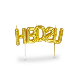 Fred Party Candles - HBD2U