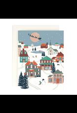 Amy Heitman Folk Village - Boxed set of 8