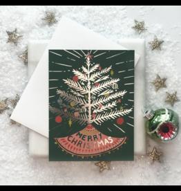 Aluminum Tree Card
