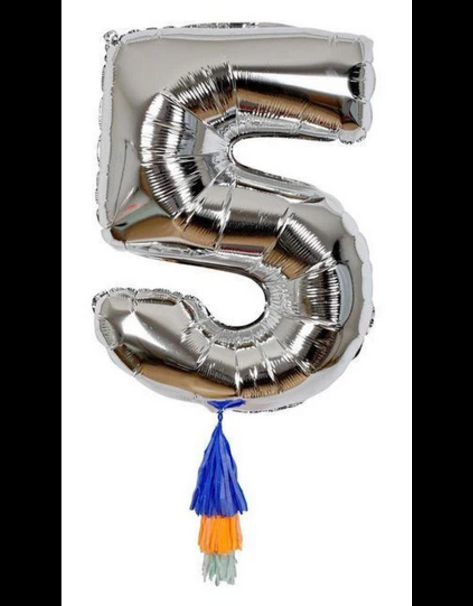 Number Balloon: 5