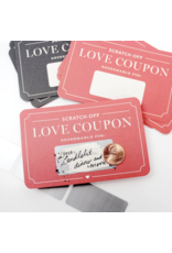 Inklings Paperie Box of 12 - Scratch-off Love Coupons