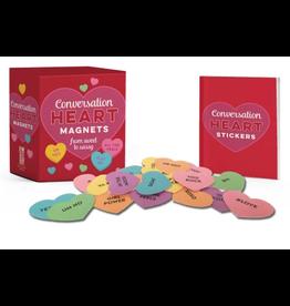 Hachette Conversation Heart Magnets