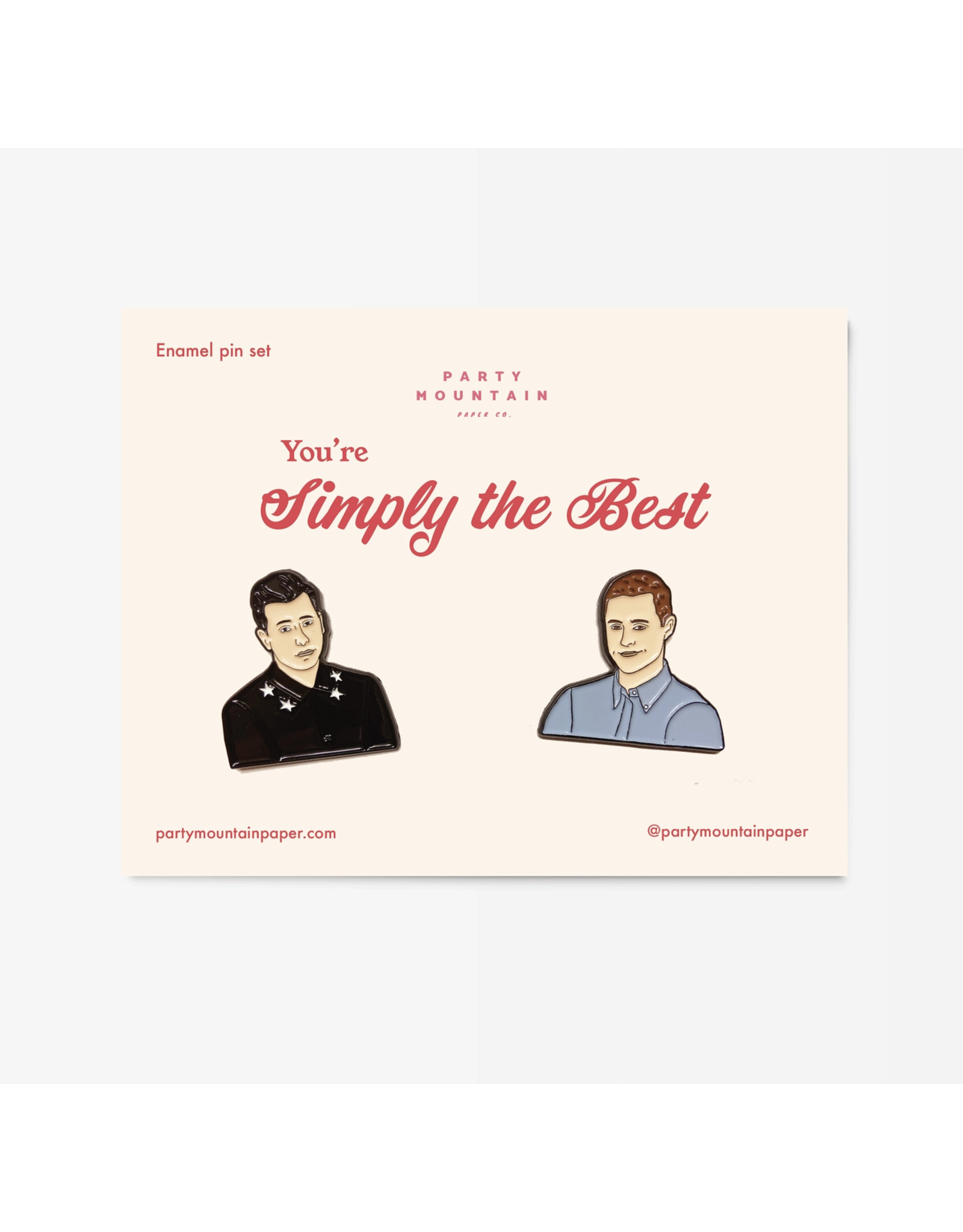 Simply the Best Pin Set