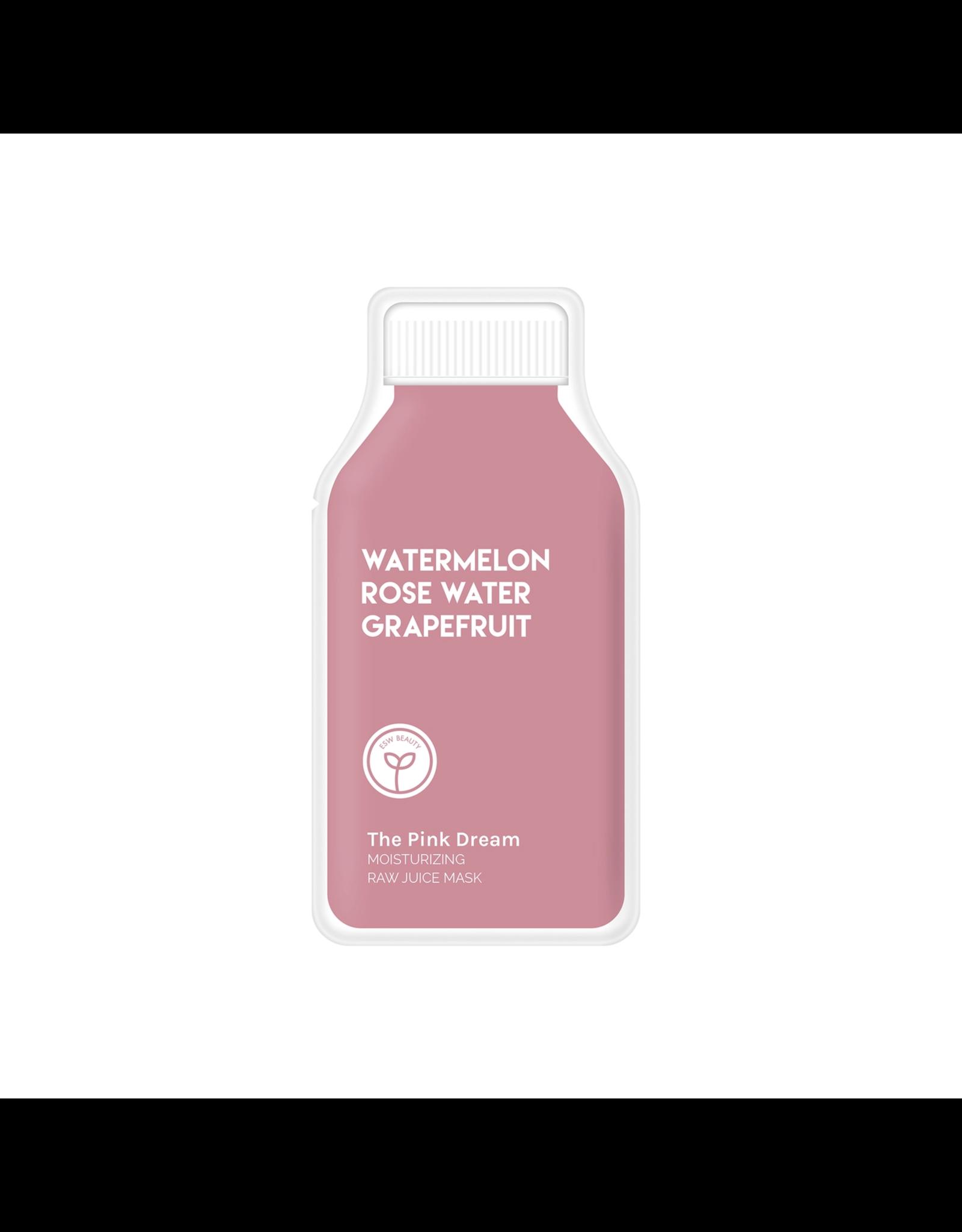 ESW Beauty The Pink Dream Moisturizing Raw Juice Mask