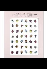 Hartland Brooklyn Florals Nail Tattoos
