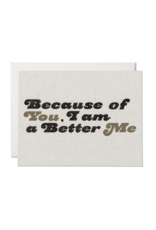 Because of You Card