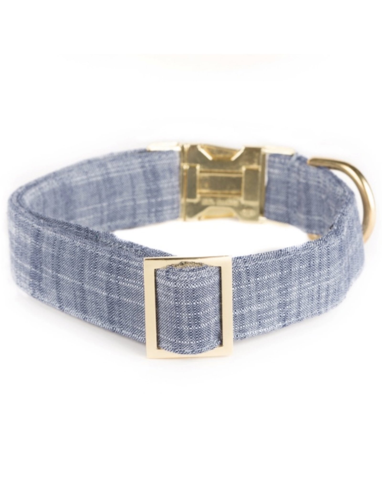 Chambray Dog Collar