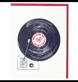 Record Love Card