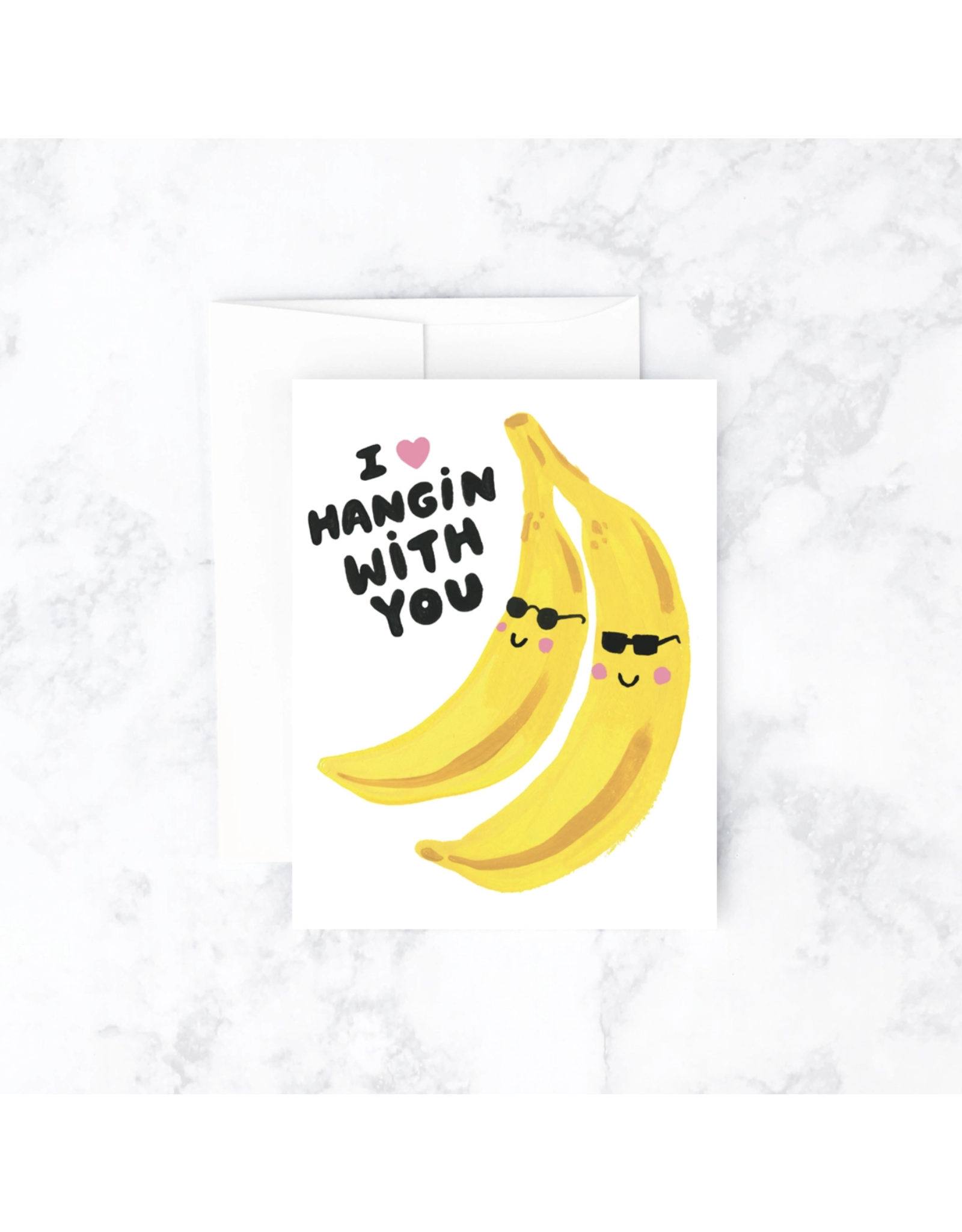 Banana Hangs Card