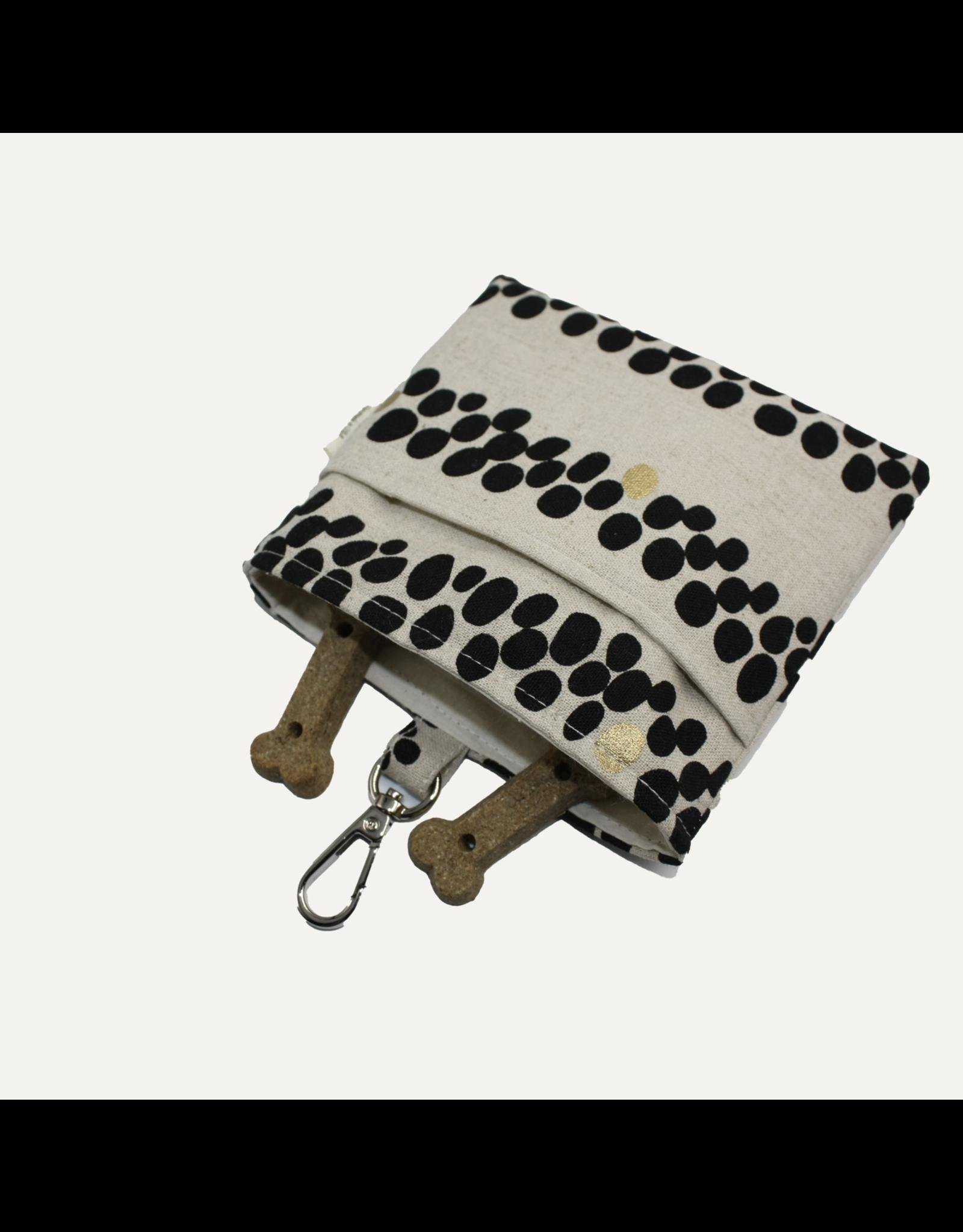 Cosmo Linen Dog Treat Bag