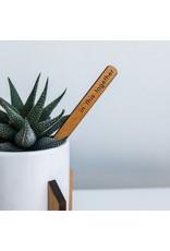 Lucca Plant Marker   Wood Plant Sticks