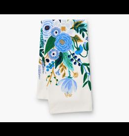 Rifle Paper Garden Party Blue Tea Towel