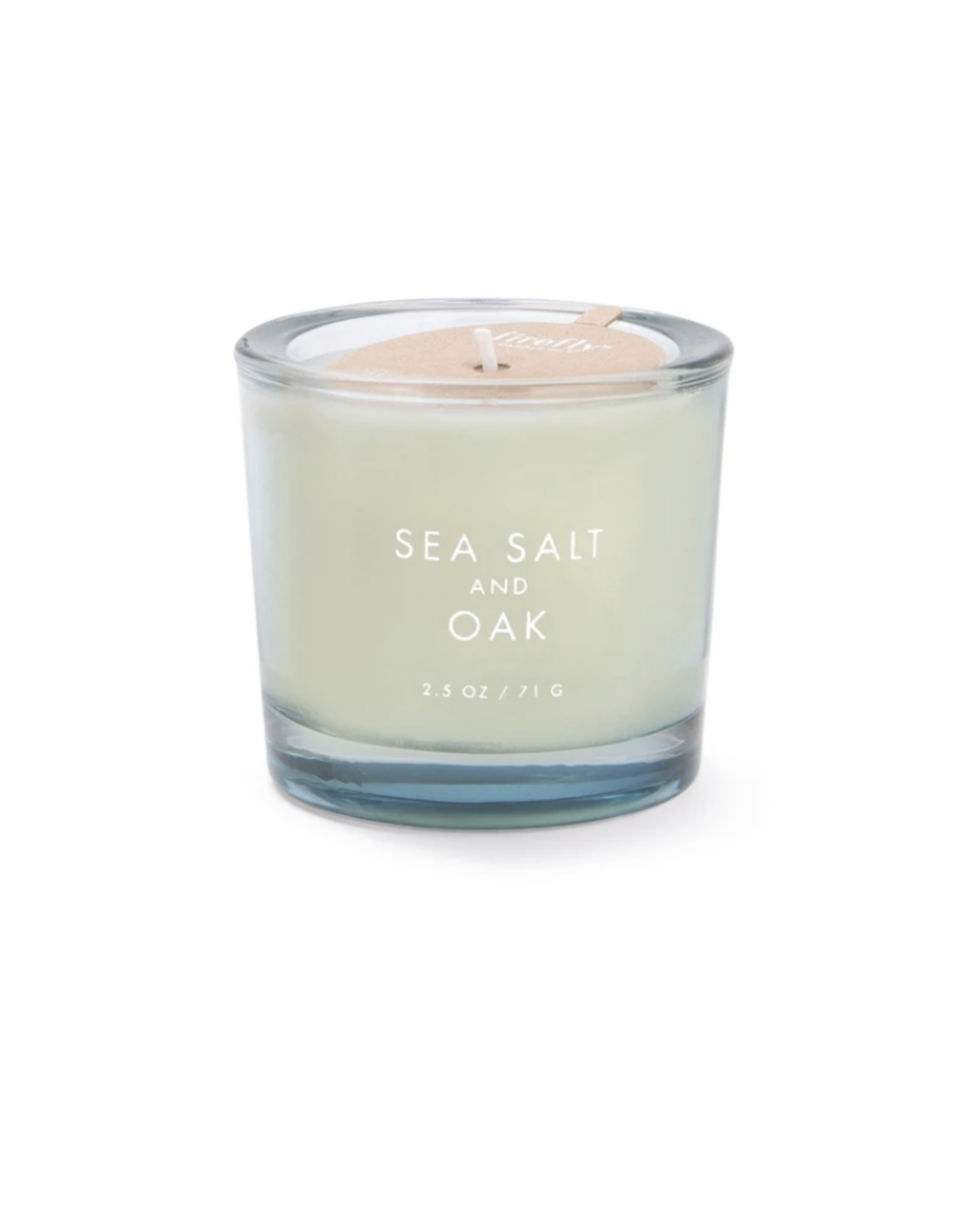 Firefly Botany 2.5oz Votive - Sea Salt + Oak