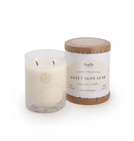 Firefly Sweet Olive Leaf Candle