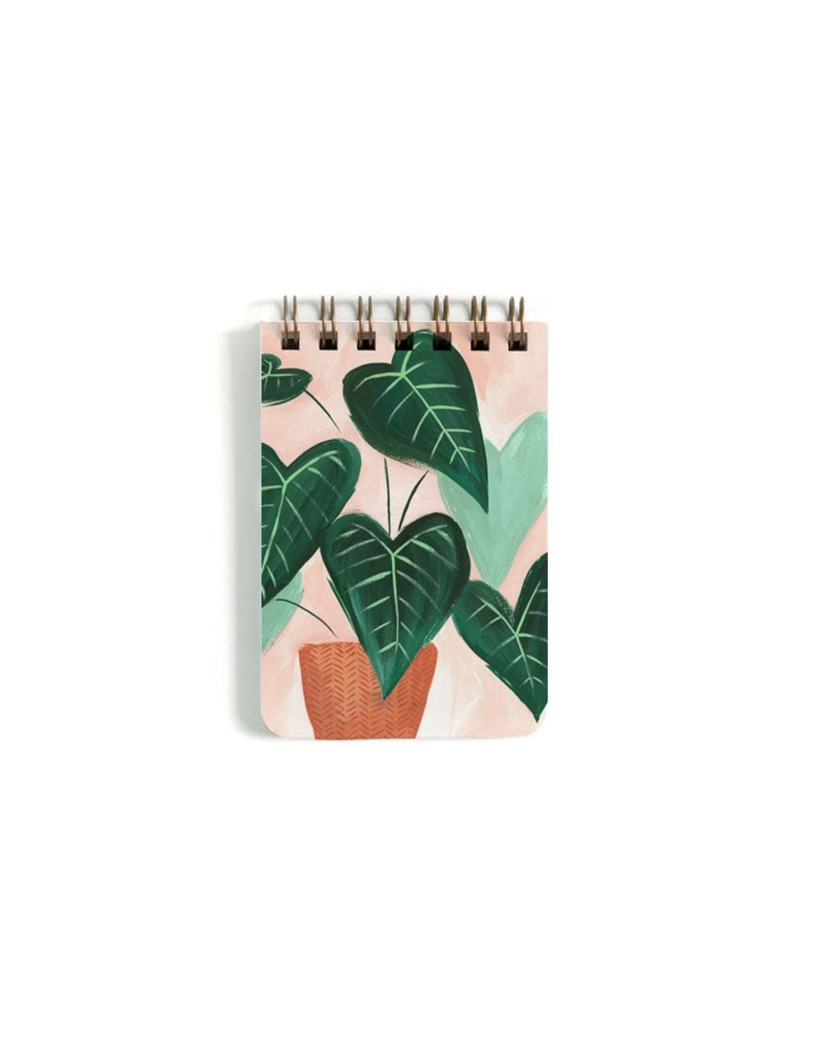 Green Leaf Notebook - Small
