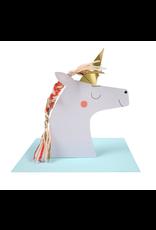 Unicorn Stand-Up Card