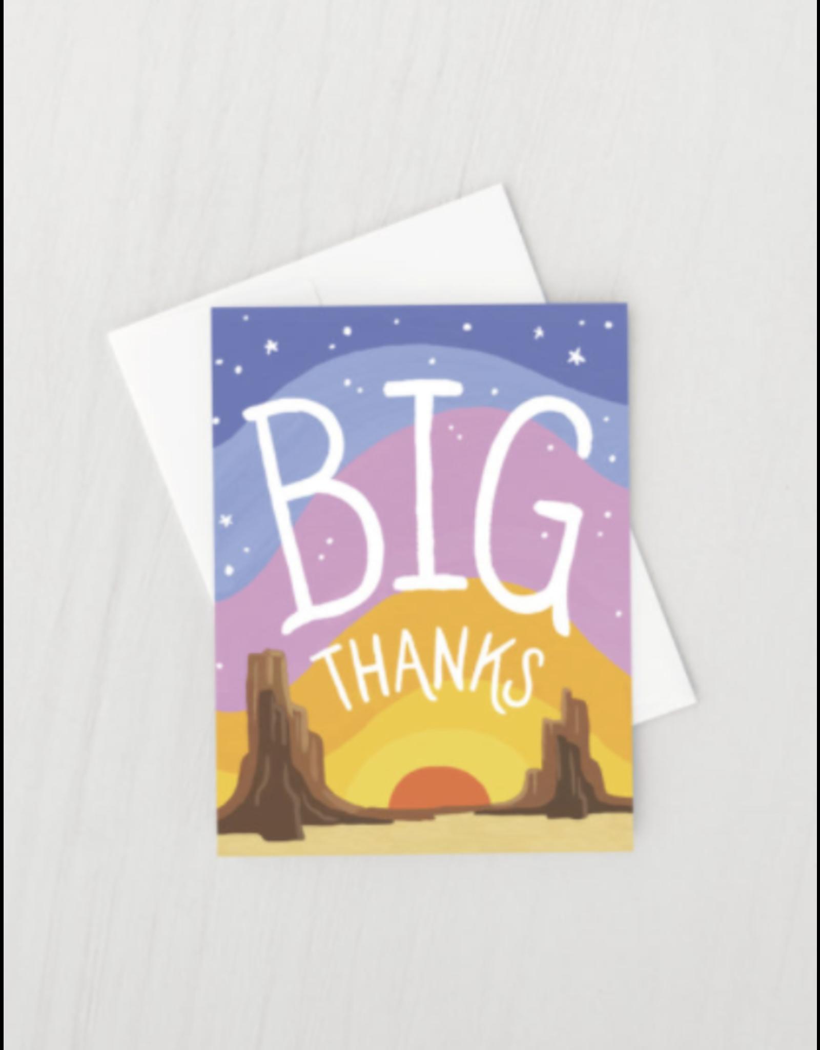Big Thanks Card