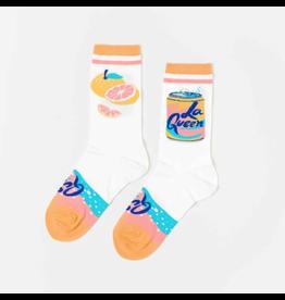 Women's Crew Socks - La Queen