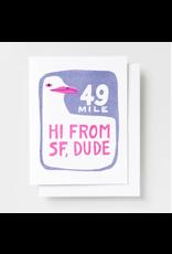 Riso Card - Hi From SF