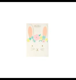 Floral Bunny Napkins