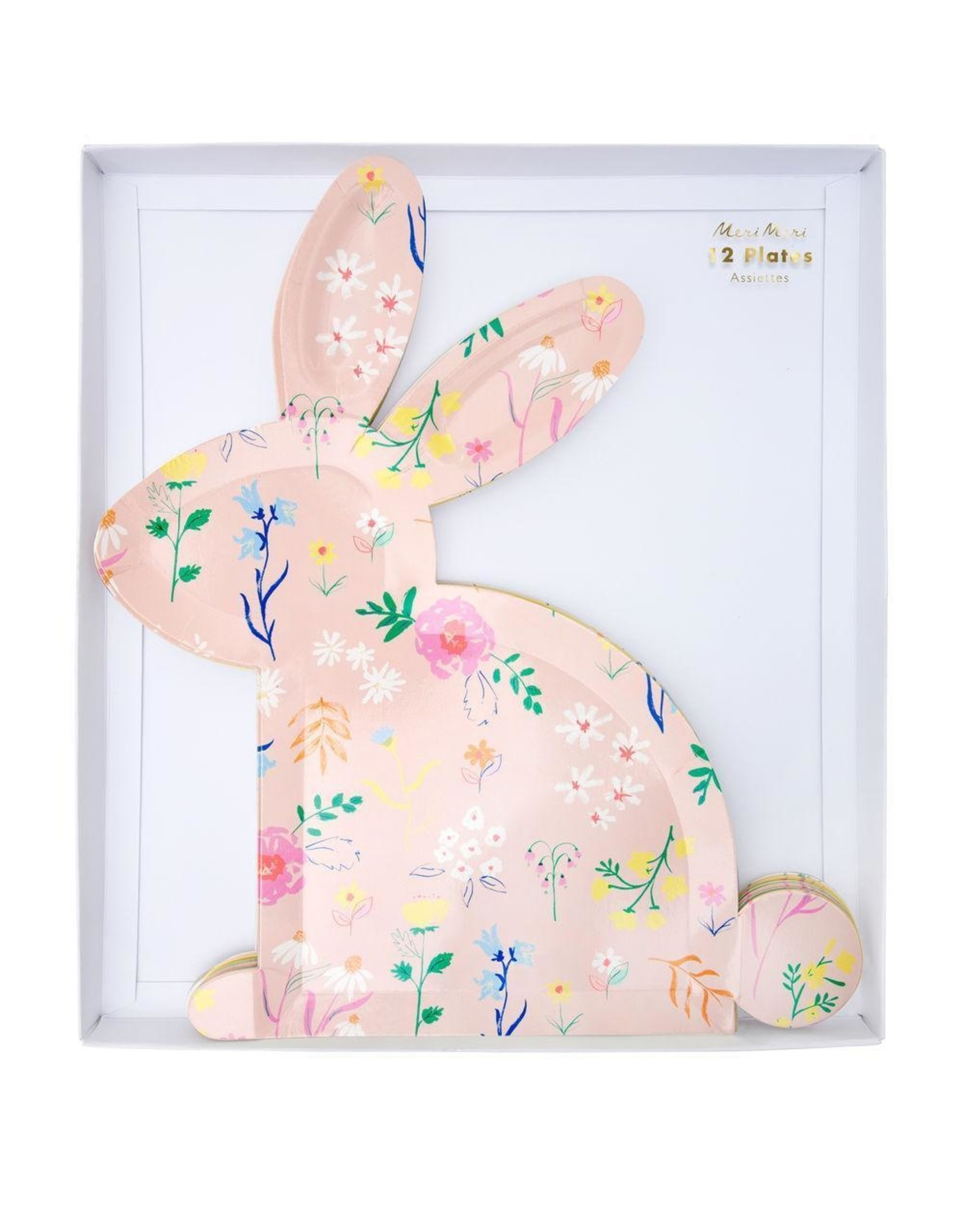 Wildflower Bunny Plates