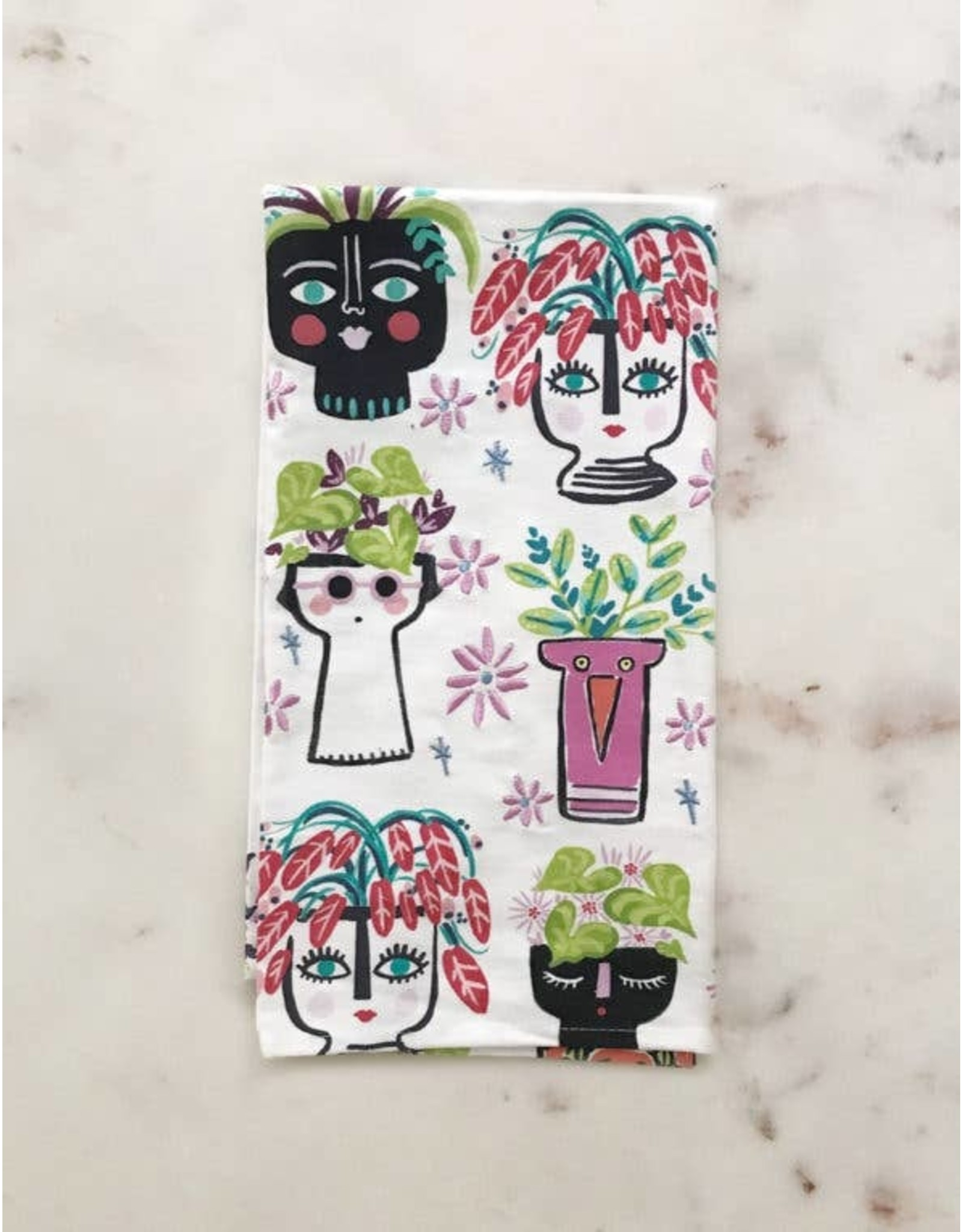 Planters Tea Towel