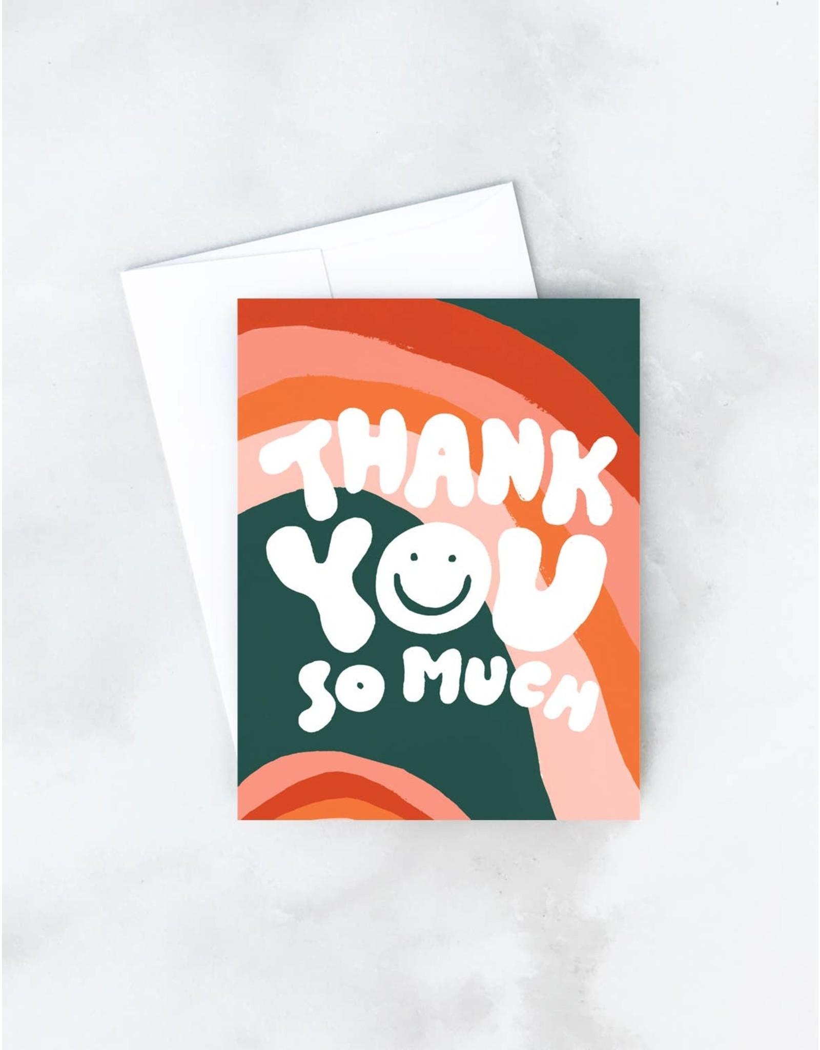 Wavy Thank You Card - Boxed Set