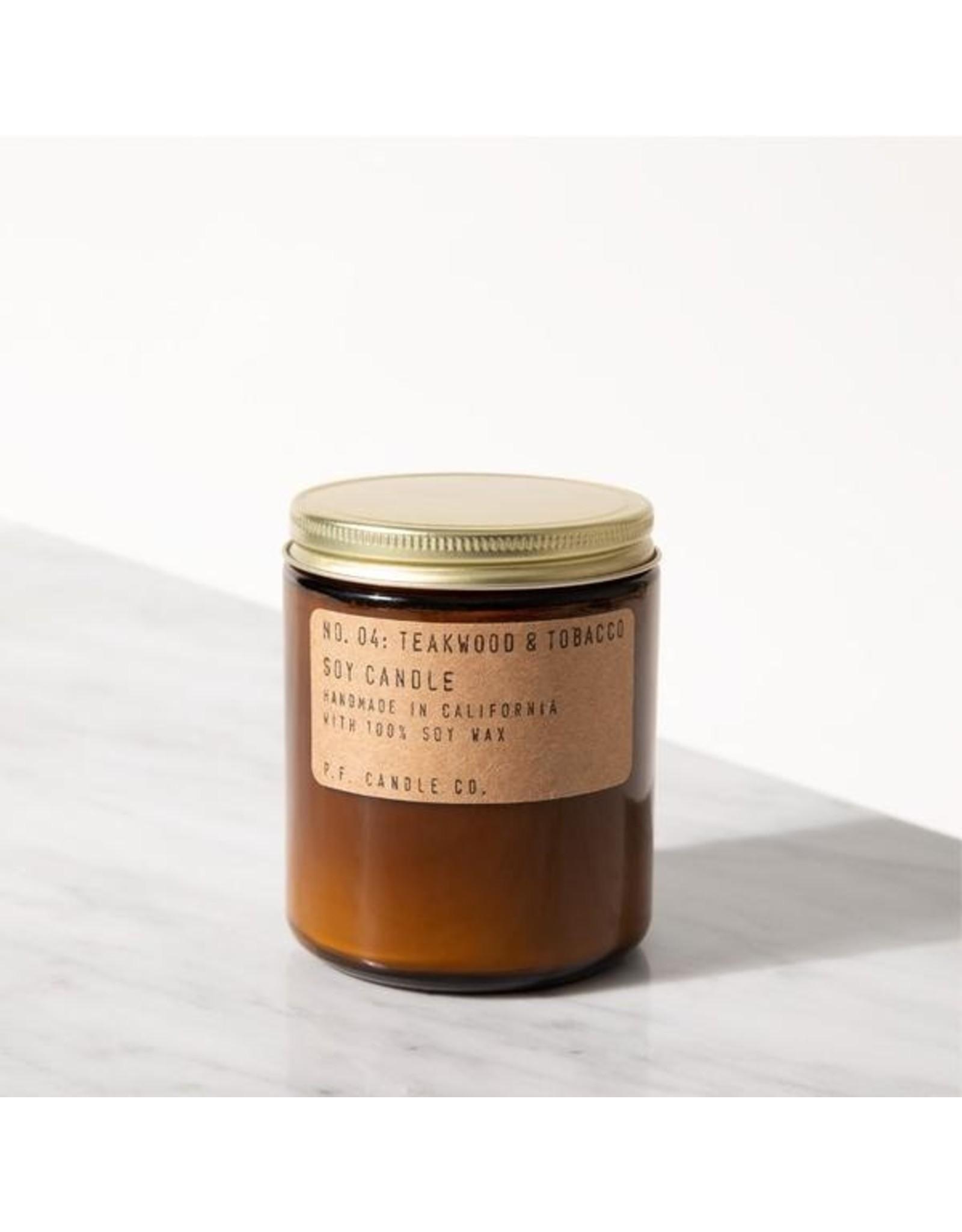 7.2 oz Soy Candle - Teakwood & Tobacco
