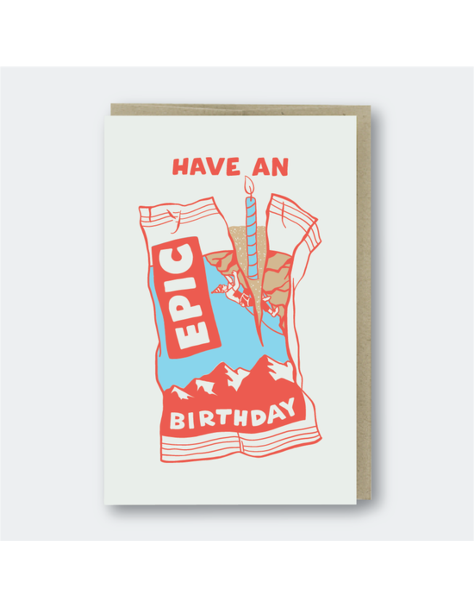 Pike Street Press Snack Bar Birthday Card