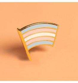Dissent Pins Trans Pride Flag Pin