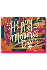 Paper Parasol Press 170 Leaves and Blooms Mother's Day Card