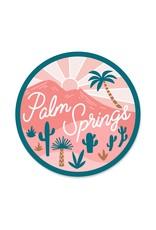 Paper Parasol Press Palm Springs Sticker