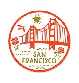 Paper Parasol Press San Francisco Icons Sticker