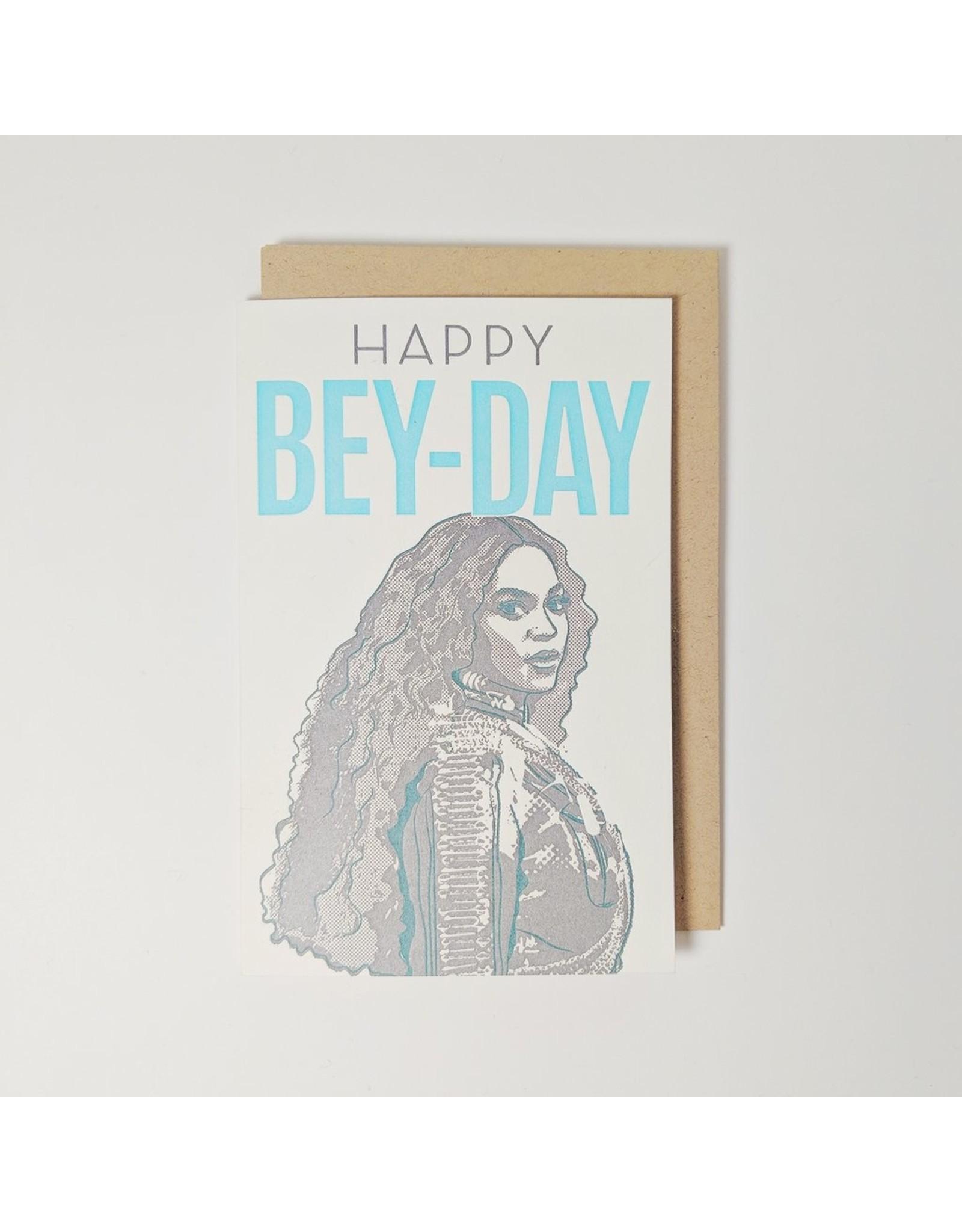 Pike Street Press Happy Bey-Day Card