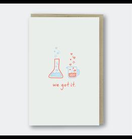 Pike Street Press We Got It Chemistry Card