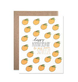 Hartland Brooklyn Anniversary Squeeze Card