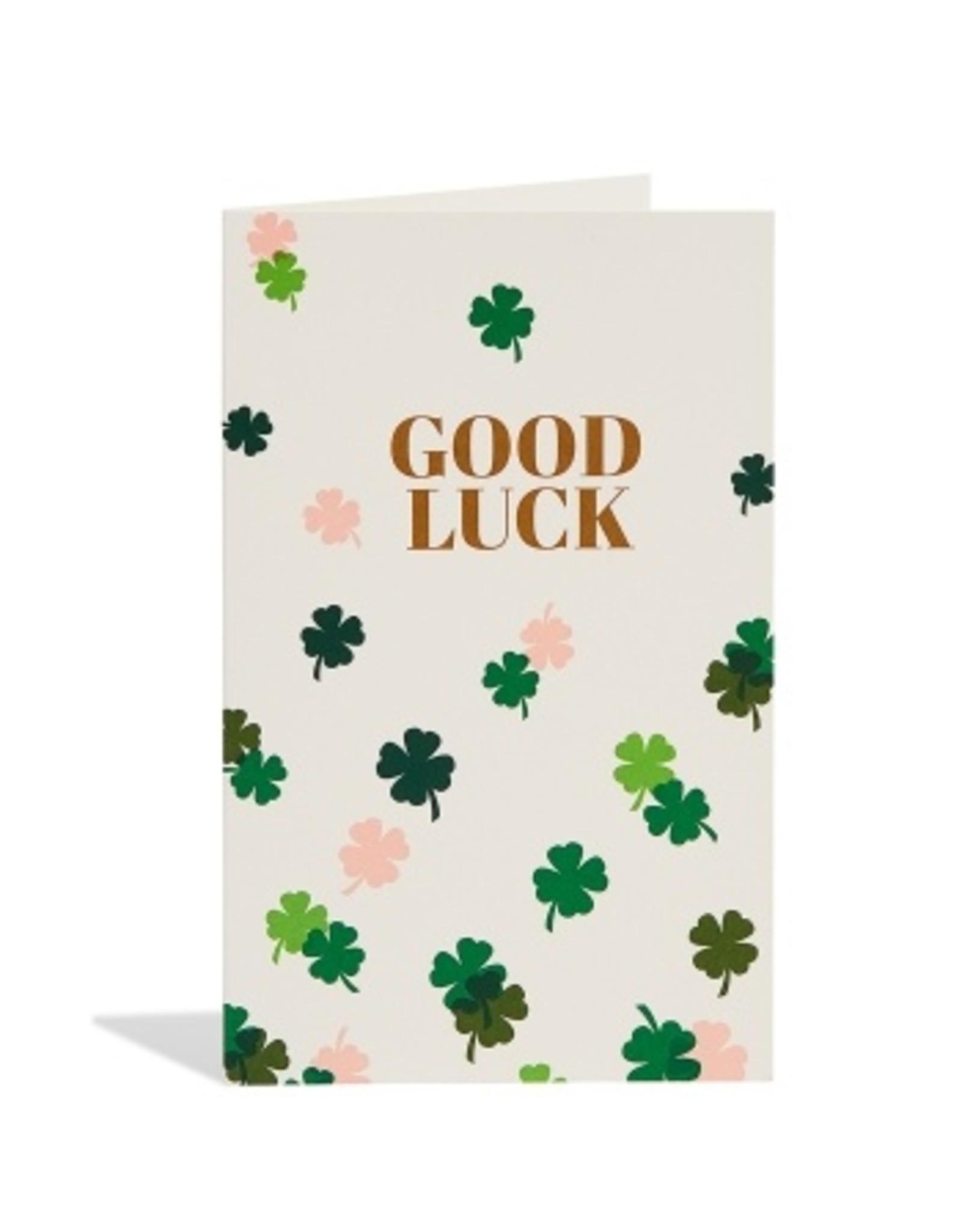 Snow & Graham Good Luck Clovers Card