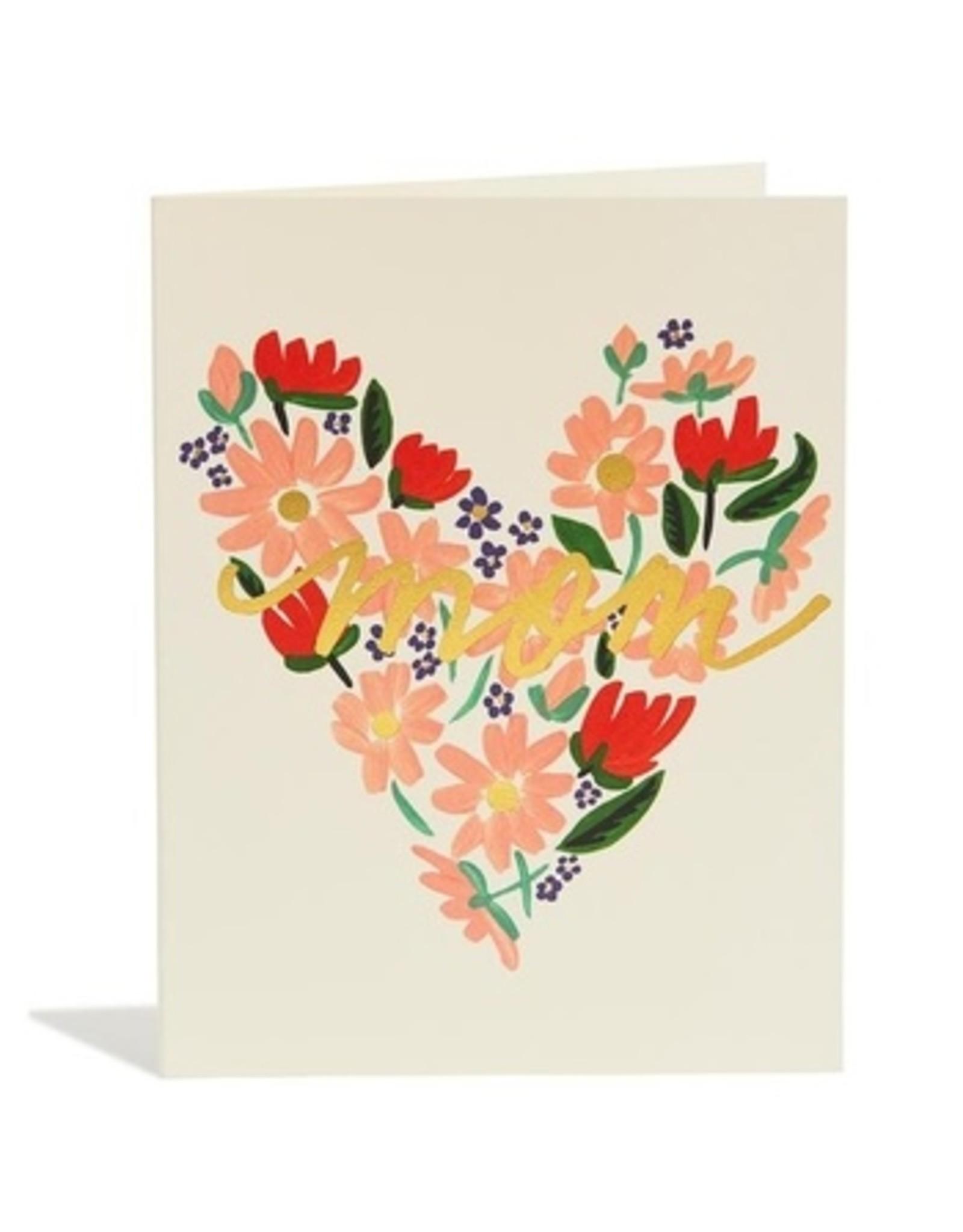Snow & Graham Mom Heart Card