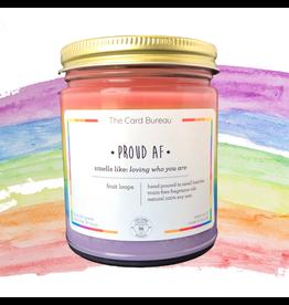 Pride Rainbow 8oz Candle
