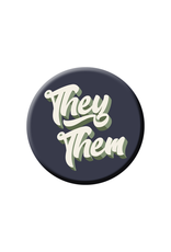 They and Them Pronouns Pin