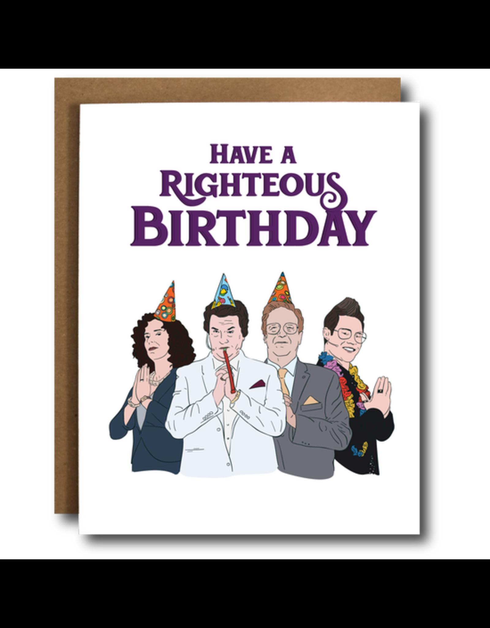 Righteous Gemstones Birthday Card
