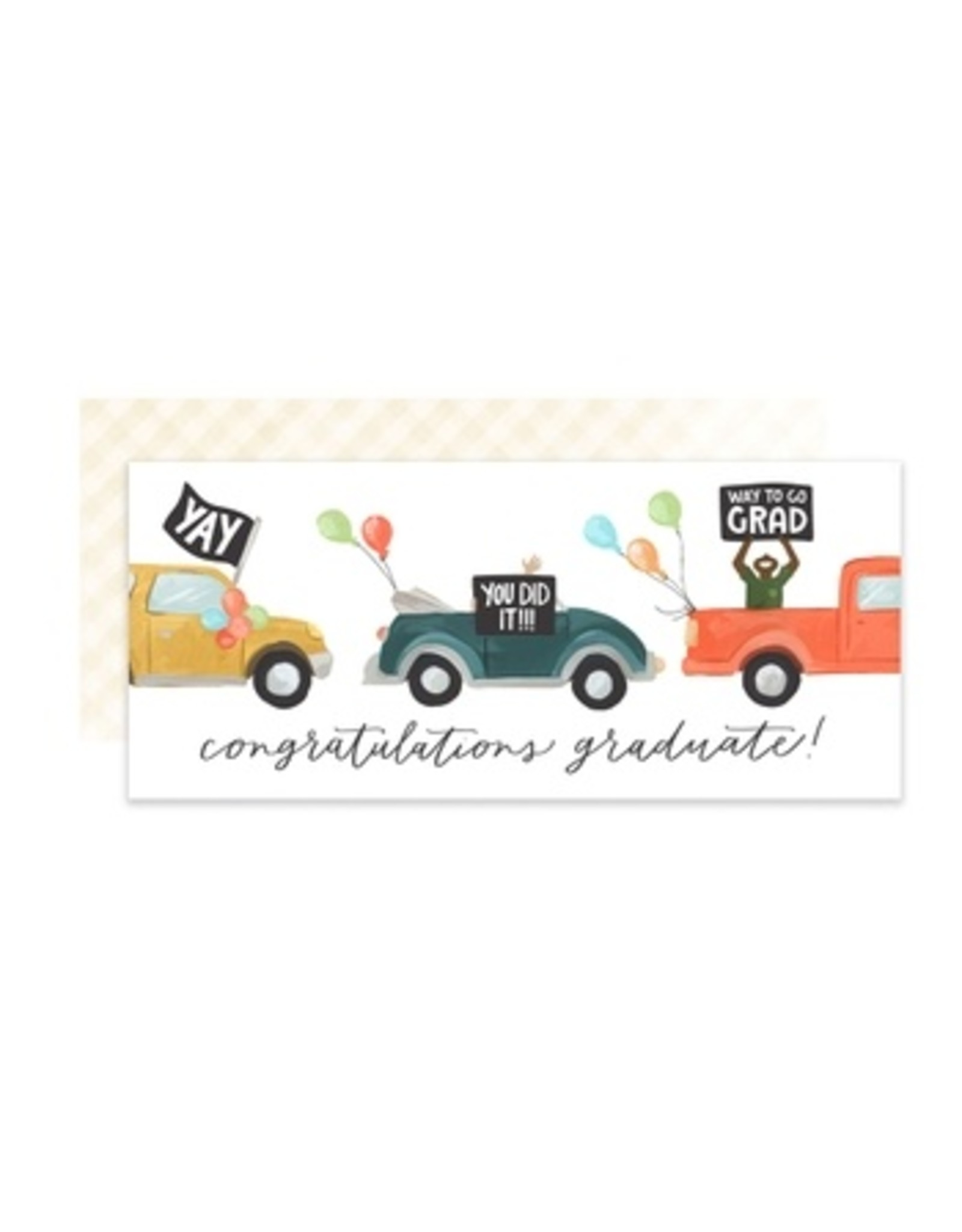 Graduation Parade Card