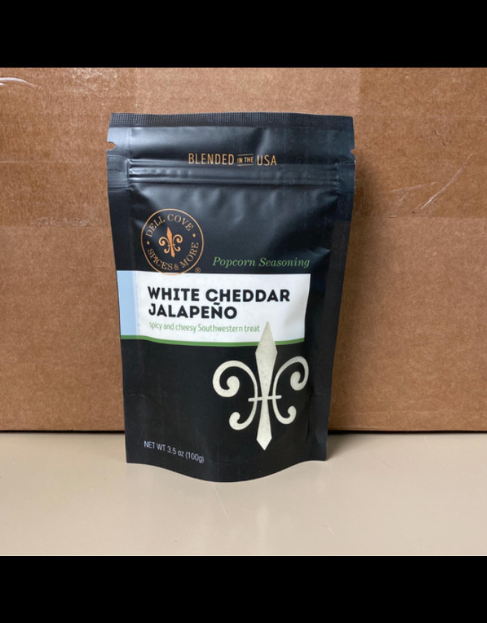 Dell Cove Spices White Cheddar Jalapeno Popcorn Seasoning