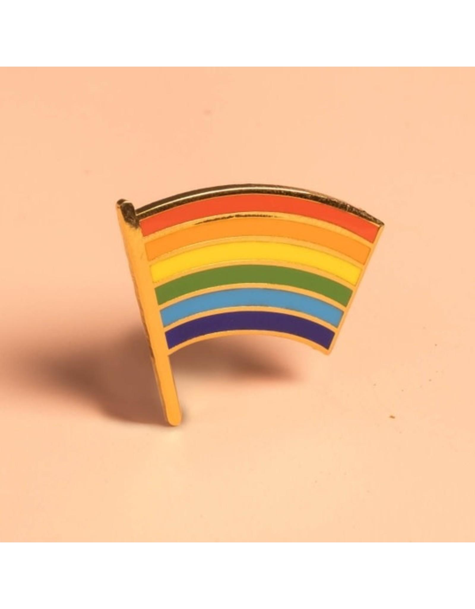Dissent Pins Pride Flag Pin