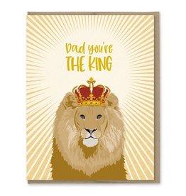 Modern Printed Matter The King Dad Card